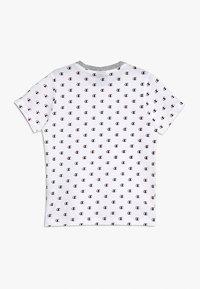 Champion - AMERICAN CLASSICS CREWNECK - Print T-shirt - white/melange - 1