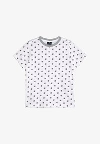 Champion - AMERICAN CLASSICS CREWNECK - Print T-shirt - white/melange - 2