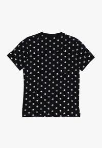 Champion - AMERICAN CLASSICS CREWNECK - Print T-shirt - black/white - 1