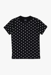 Champion - AMERICAN CLASSICS CREWNECK - Print T-shirt - black/white - 0