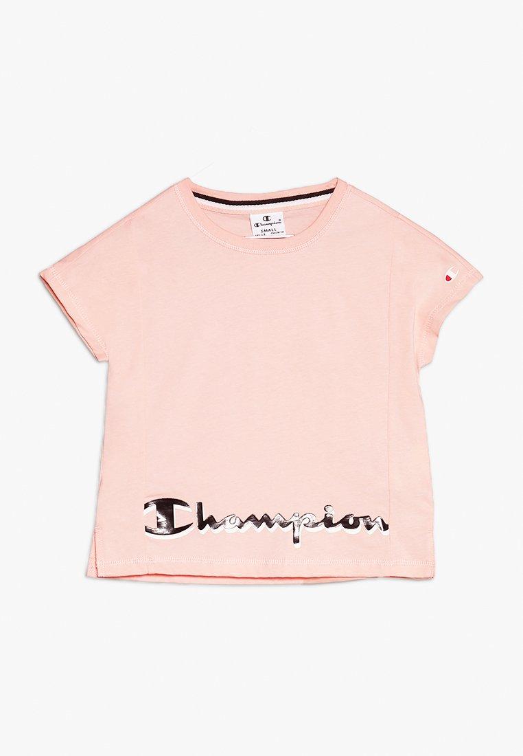 Champion - AMERICAN CLASSICS CREWNECK  - Print T-shirt - rose