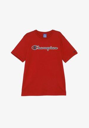 ROCHESTER LOGO CREWNECK - Print T-shirt - red
