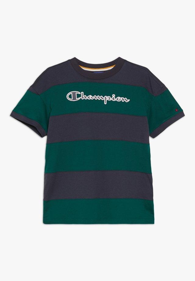 ROCHESTER VARSITY CREWNECK - T-shirts print - dark blue/dark green