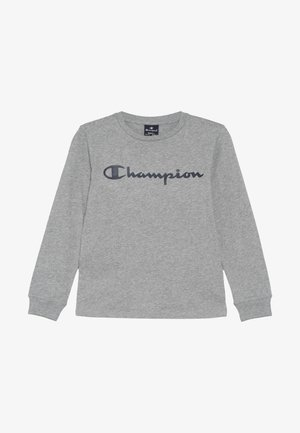 AMERICAN CLASSICS CREWNECK LONG SLEEVE - Top s dlouhým rukávem - mottled grey