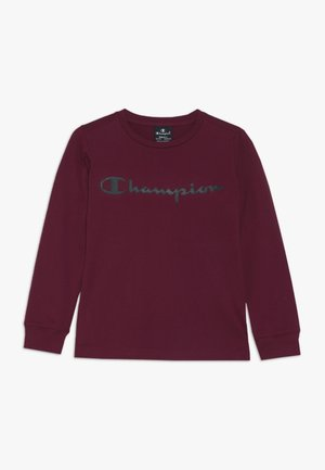 AMERICAN CLASSICS CREWNECK LONG SLEEVE - Langærmede T-shirts - bordeaux