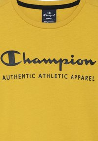 Champion - AMERICAN CLASSICS LONG SLEEVE CREWNECK  - Top s dlouhým rukávem - mustard yellow - 3