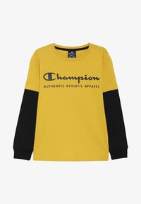 Champion - AMERICAN CLASSICS LONG SLEEVE CREWNECK  - Top s dlouhým rukávem - mustard yellow - 2