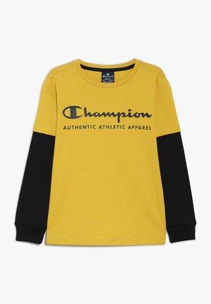 AMERICAN CLASSICS LONG SLEEVE CREWNECK  - Camiseta de manga larga - mustard yellow