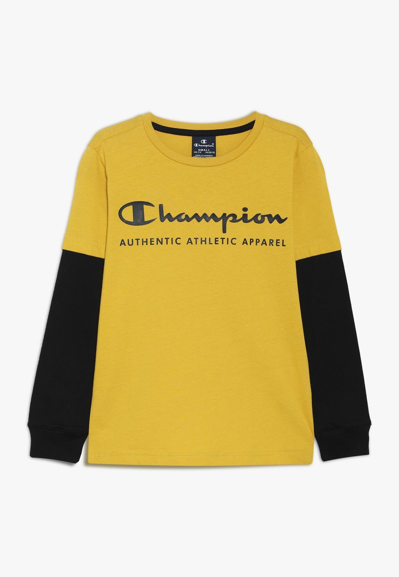 Champion - AMERICAN CLASSICS LONG SLEEVE CREWNECK  - Top s dlouhým rukávem - mustard yellow