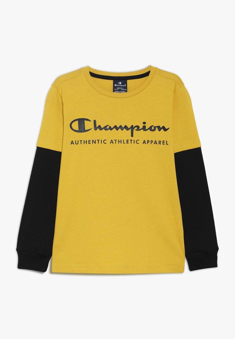 Champion - AMERICAN CLASSICS LONG SLEEVE CREWNECK  - Long sleeved top - mustard yellow