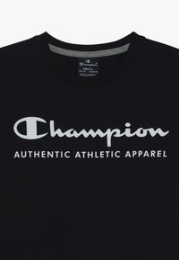 Champion - AMERICAN CLASSICS LONG SLEEVE CREWNECK  - Long sleeved top - navy/greymelange - 4