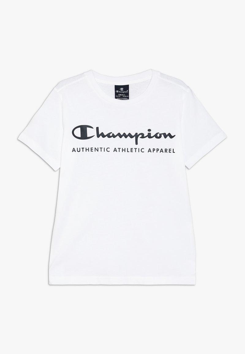 Champion - AMERICAN CLASSICS CREWNECK - Triko spotiskem - white