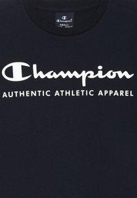 Champion - AMERICAN CLASSICS CREWNECK - T-shirt print - navy - 3
