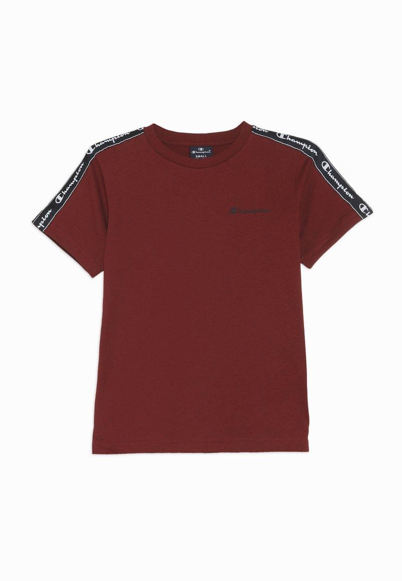 Champion - AMERICAN CLASSICS PIPING CREWNECK - T-shirt print - bordeaux