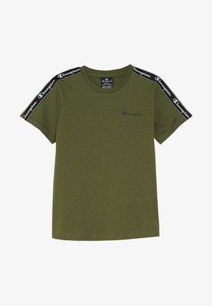 AMERICAN CLASSICS PIPING CREWNECK - Print T-shirt - khaki
