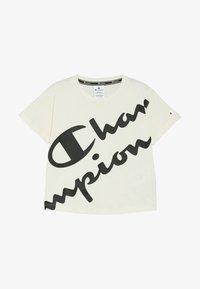 Champion - AMERICAN CLASSICS CREWNECK  - T-shirt imprimé - off white - 2