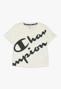 Champion - AMERICAN CLASSICS CREWNECK  - T-shirt imprimé - off white - 0