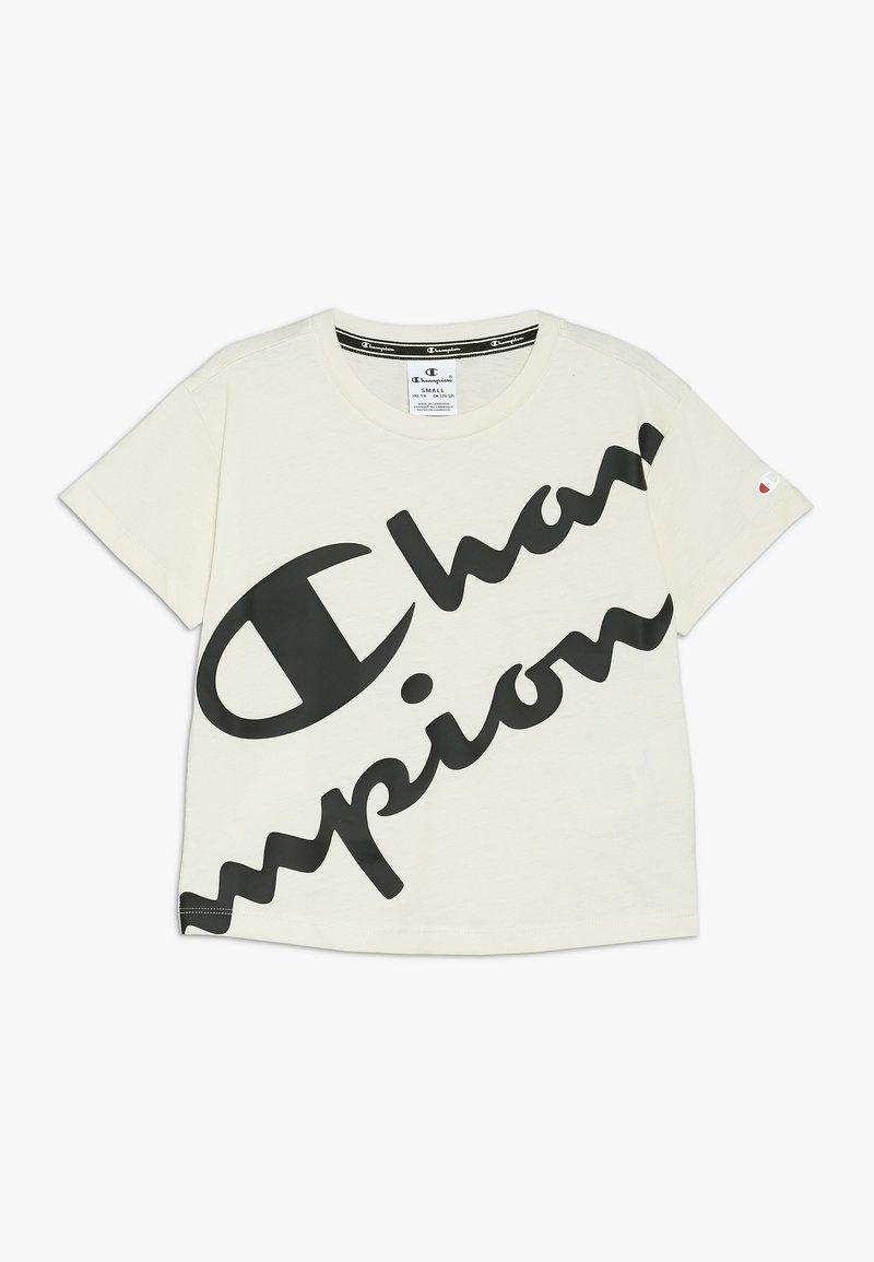 Champion - AMERICAN CLASSICS CREWNECK  - T-shirt imprimé - off white