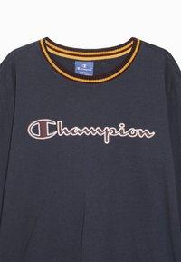 Champion - ROCHESTER VARSITY LONG SLEEVE - Langærmede T-shirts - blue - 4
