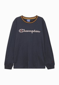Champion - ROCHESTER VARSITY LONG SLEEVE - Langærmede T-shirts - blue - 0