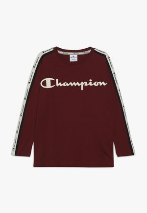 BRAND REVOLUTION LONG SLEEVE - Top s dlouhým rukávem - bordeaux