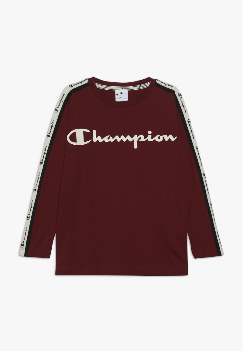 Champion - BRAND REVOLUTION LONG SLEEVE - Longsleeve - bordeaux