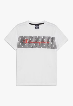 CHAMPION X ZALANDO - T-shirt print - white