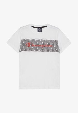 CHAMPION X ZALANDO - T-shirt print - white