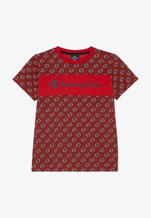 CHAMPION X ZALANDO - Printtipaita - red