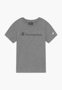Champion - LEGACY AMERICAN CLASSICS CREWNECK - T-shirt con stampa - mottled grey - 0