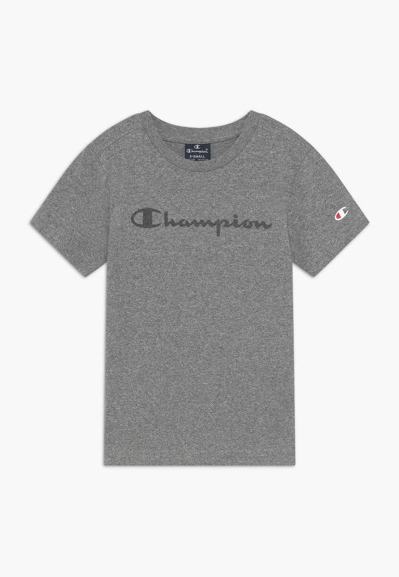 Champion - LEGACY AMERICAN CLASSICS CREWNECK - T-shirt con stampa - mottled grey