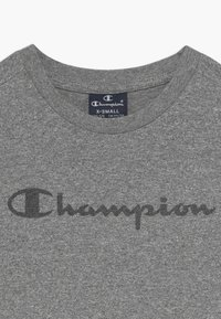 Champion - LEGACY AMERICAN CLASSICS CREWNECK - T-shirt con stampa - mottled grey - 3