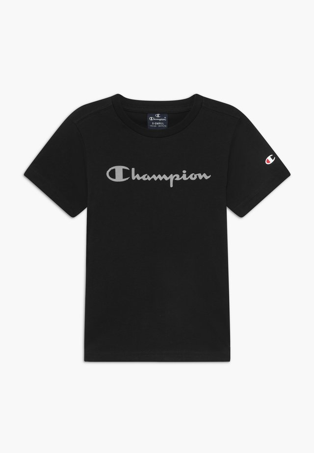 LEGACY AMERICAN CLASSICS CREWNECK - T-shirt z nadrukiem - black