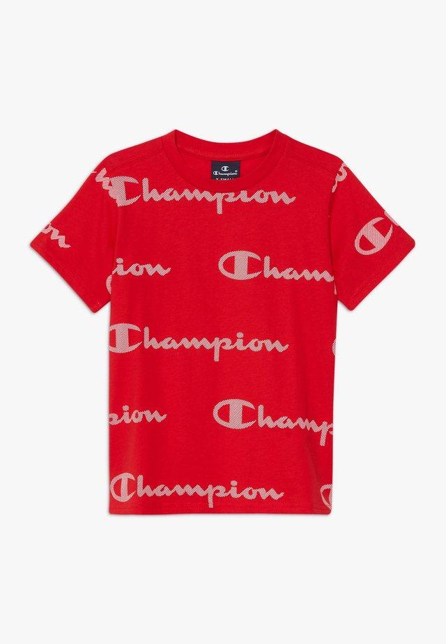 LEGACY AMERICAN CLASSICS CREWNECK  - T-shirt z nadrukiem - red