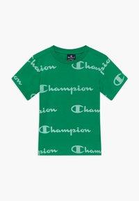 Champion - LEGACY AMERICAN CLASSICS CREWNECK  - Camiseta estampada - green - 0