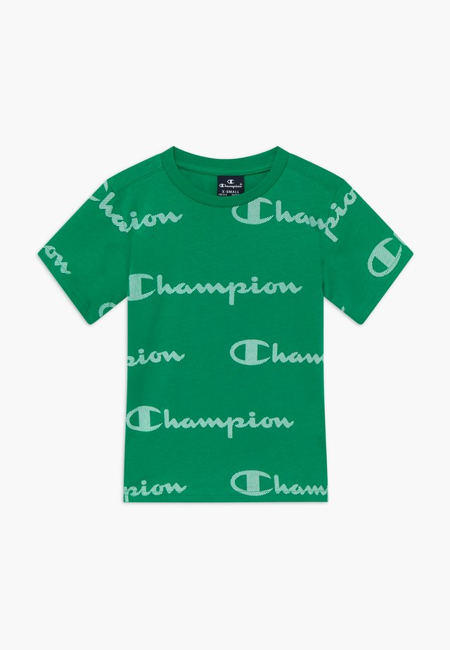 LEGACY AMERICAN CLASSICS CREWNECK  - T-shirt z nadrukiem - green