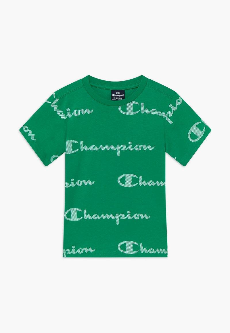 Champion - LEGACY AMERICAN CLASSICS CREWNECK  - Camiseta estampada - green