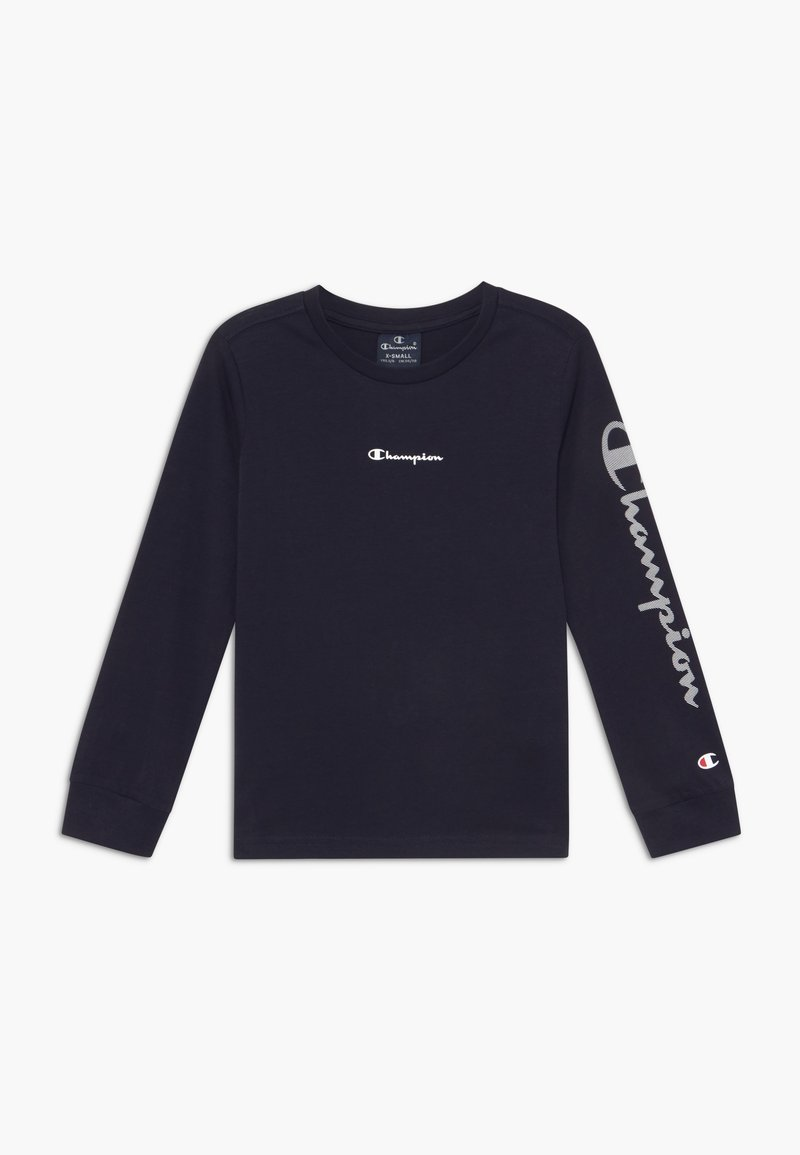 Champion - LEGACY AMERICAN CLASSICS LONG SLEEVE CREWNECK - Long sleeved top - dark blue