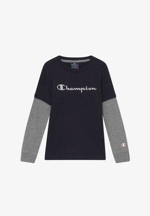 LEGACY AMERICAN CLASSICS LONG SLEEVE CREWNECK - Long sleeved top - dark blue