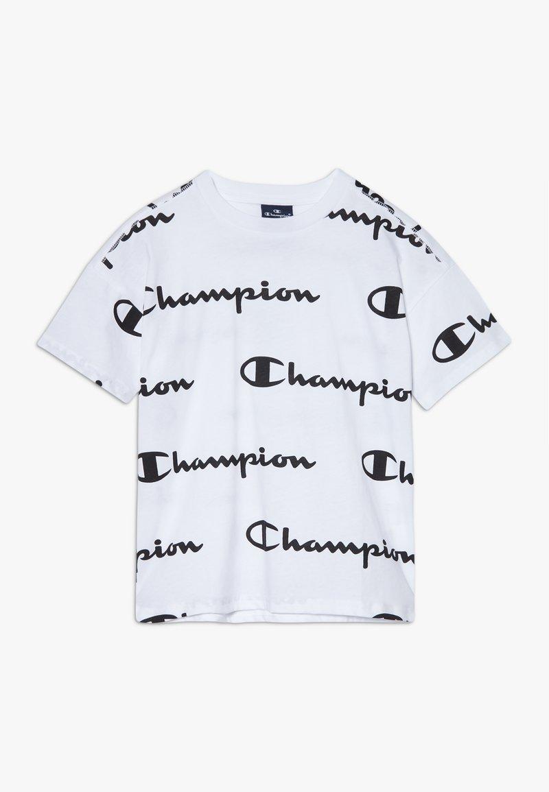 Champion - LEGACY AMERICAN CLASSICS  - Triko spotiskem - white