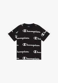 Champion - LEGACY AMERICAN CLASSICS  - T-shirt med print - black - 2