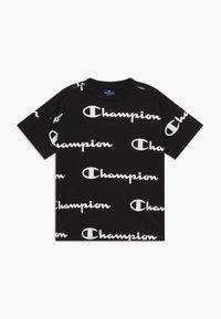 Champion - LEGACY AMERICAN CLASSICS  - T-shirt med print - black - 0
