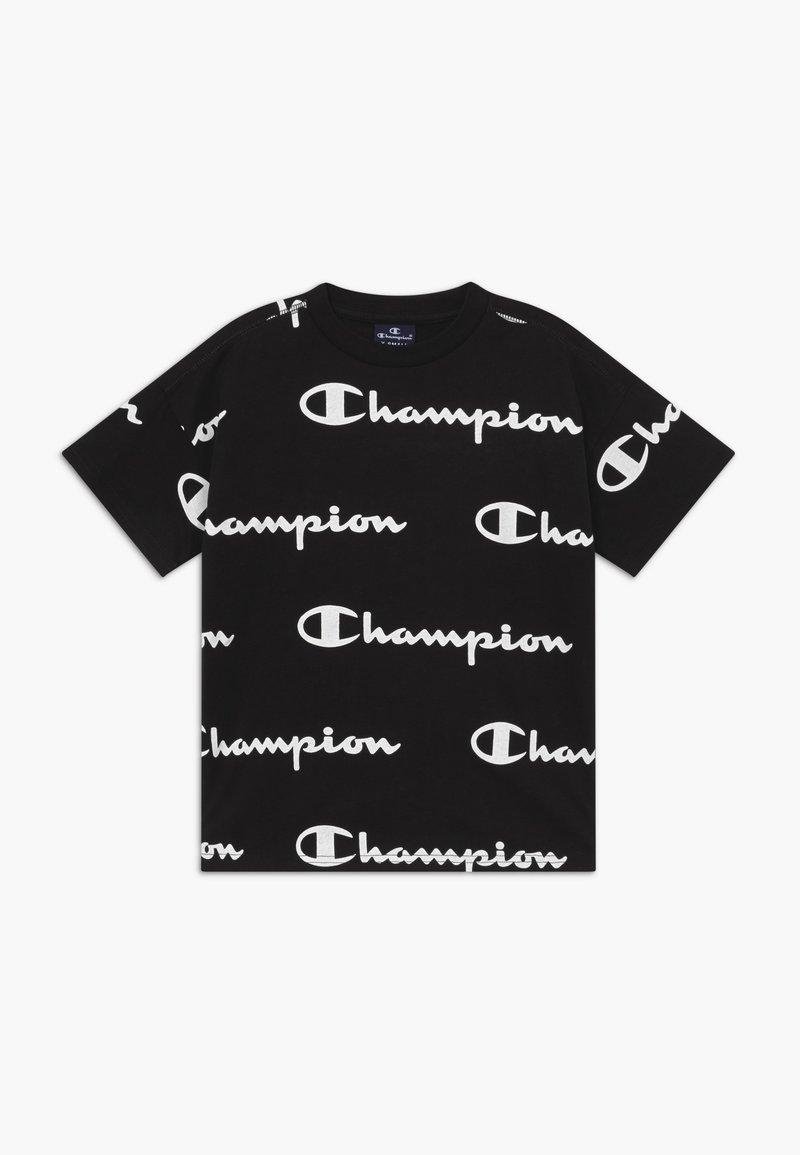 Champion - LEGACY AMERICAN CLASSICS  - T-shirt med print - black