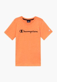 Champion - LEGACY AMERICAN CLASSICS - T-shirt imprimé - orange - 0