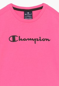 Champion - LEGACY AMERICAN CLASSICS - T-shirt print - neon pink - 3