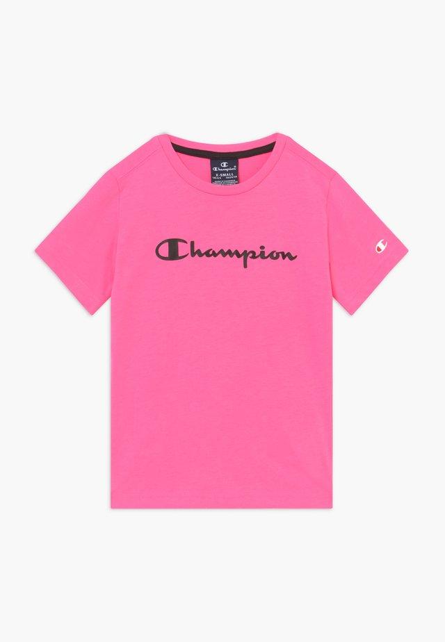 LEGACY AMERICAN CLASSICS - T-shirt z nadrukiem - neon pink