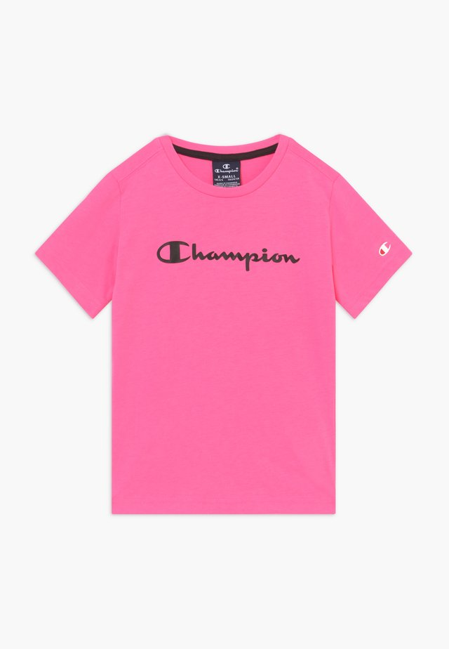 LEGACY AMERICAN CLASSICS - T-shirts med print - neon pink