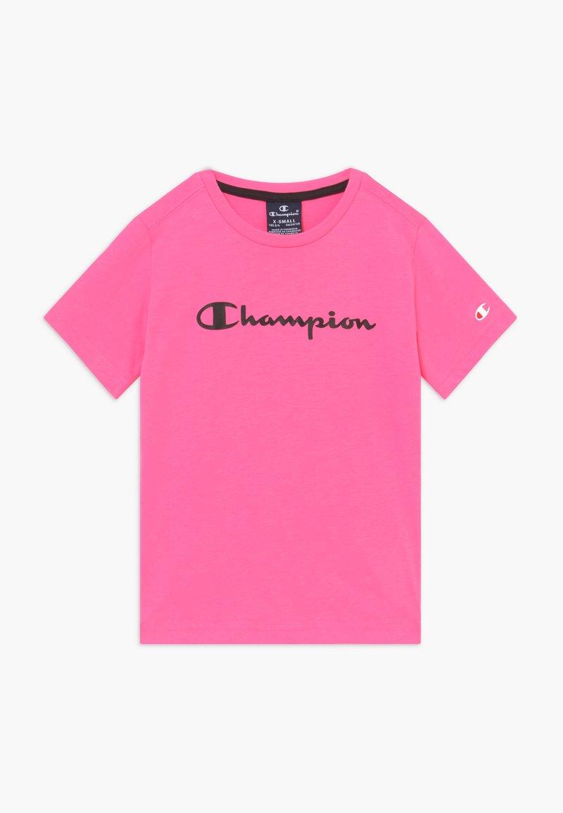 Champion - LEGACY AMERICAN CLASSICS - T-shirt print - neon pink