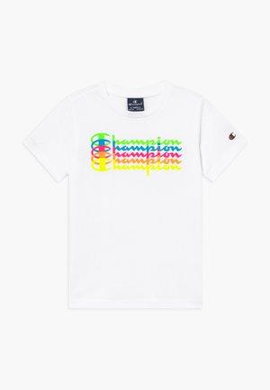 LEGACY AMERICAN CLASSICS  - T-shirt med print - white