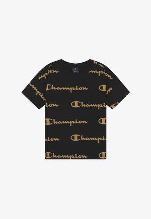 LEGACY AMERICAN CLASSICS CREWNECK - Camiseta estampada - black